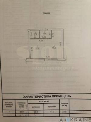 1-комн., 33 кв. м., Садиковская, Центр, Одесса, Приморский район