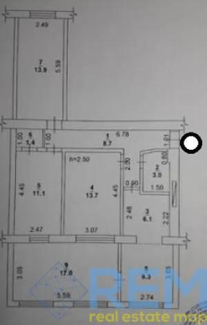 4-комн., 84 кв. м., Ивана и Юрия Лип (Гайдара), Черемушки, Одесса, Малиновский район