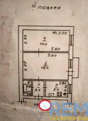 2-комн., 44 кв. м., Ефимова, Черемушки, Одесса, Малиновский район