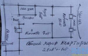 2-комн., 28 кв. м., Разумовская, Молдаванка, Одесса, Приморский район