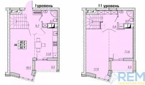 3-комн., 89 кв. м., Прохоровская, Молдаванка, Одесса, Малиновский район