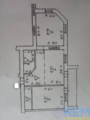 2-комн., 65 кв. м., Бреуса, Черемушки, Одесса, Малиновский район