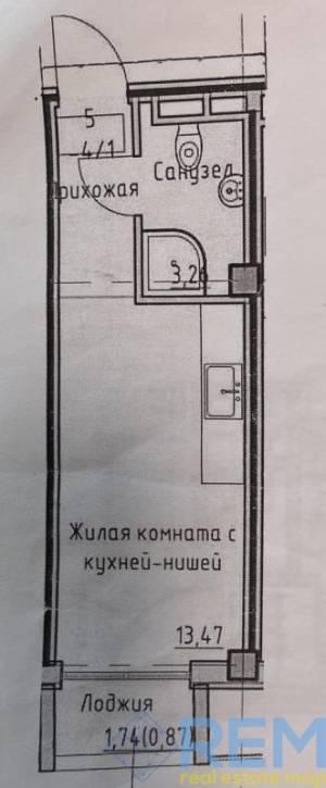 1-комн., 20 кв. м., Дмитрия Донского, Фонтан, Одесса, Киевский район