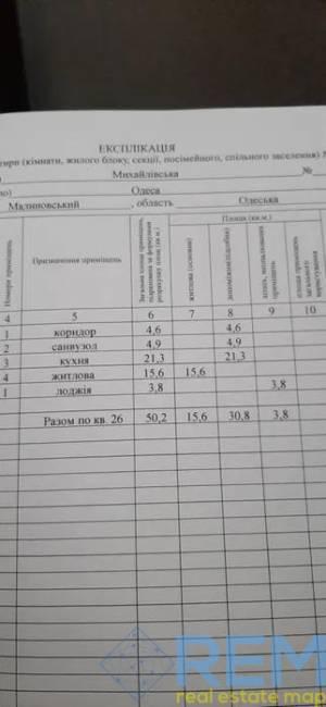 1-комн., 50 кв. м., Михайловская, Молдаванка, Одесса, Малиновский район