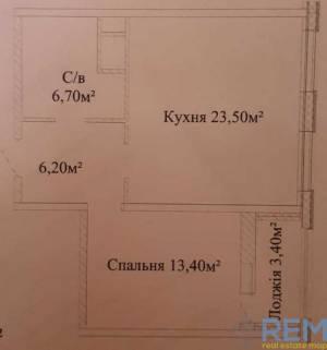 2-комн., 53 кв. м., Жаботинского, Таирова, Одесса, Киевский район