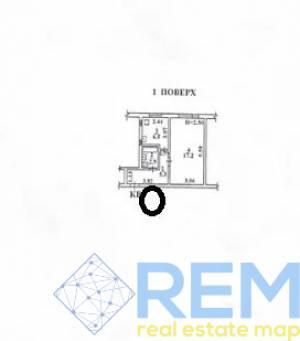 Офис, Инглези (25-ой Чапаевской Дивизии), 32 кв. м., Черемушки, Одесса, Малиновский район